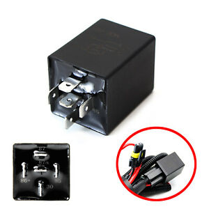 10 Second Time Delay Relay 5 Pin Spdt 12v 30a Perfect For Automotive Lighting