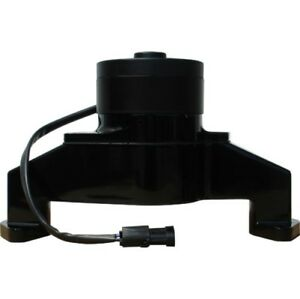 Proform 68230bk Electric Water Pump In Black Epoxy Pc Finish For Bb Chevy