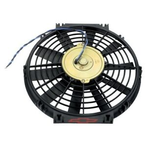 Proform 141 642 Universal Electric Fan With Gm Bowtie Logo 12 1200cfm