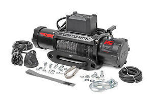 Rough Country Pro12000s 12 000 Lb Pro Series Electric Winch W Synthetic