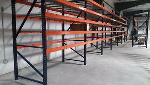 Pallet Rack Teardrop Upright 42 w X 144 h New