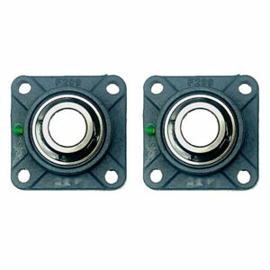 2x Ucf209 26 1 5 8 Square 4 Bolt Flange Bearing