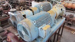 Aurora High Pressure Pump 90gpm 400 tdh Stainless Steel W 30hp Motor 3500rpm