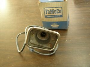 Nos Oem Ford 1962 Fairlane Park Light Lamp Housing Bucket