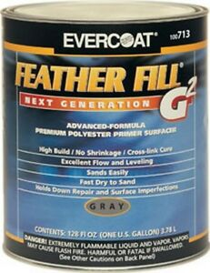 Featherfill G2 Gray 1 gallon Fib 713 Brand New