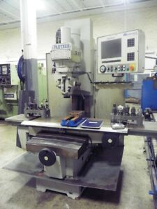 Milltronics Mb20 3 axis Cnc Vertical Bed Mill Milling Machine