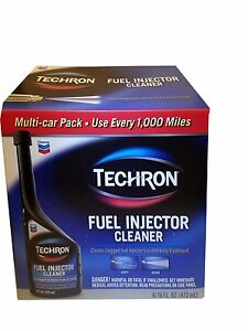 Chevron Techron Fuel Injector Cleaner 6 Multi car Pack 16 Fl Oz Each