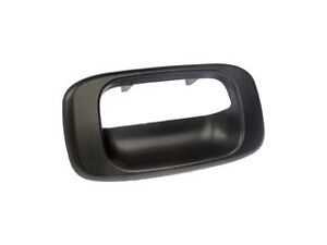 Replacement 76106 Tailgate Handle Bezel Cover Black For Gm