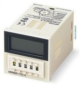 Multi Function Timer 12v 24v 120v 240v Electronic Time Relay On Off Delay W Base