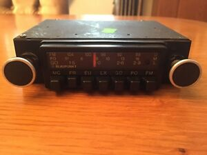 Blaupunkt Tubligen Radio Vintage Car Radio Working Mercedes Bmw Jaguar Rover