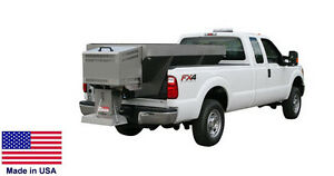 Spreader Commercial Salt Sand Truck Bed Mounted Stainless Steel 2 1 Cy
