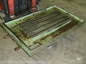 55 75 X 31 25 X 5 5 Steel Welding 4 T slotted Table Cast Iron Layout Plate