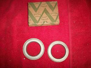 Essex 6 Hudson 8 Hudson 6 Pair Nos Victor Front Wheel Grease Retainers