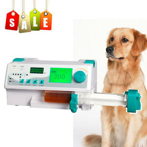 Veterinary Injection Infusion Syringe Pump alarm Kvo drug Library To Farm Animal