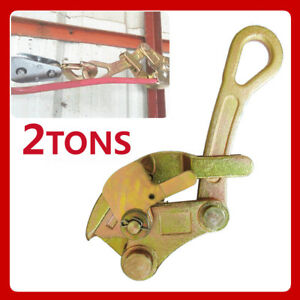 Multifunctional Cable Wire Rope Haven Jaw Grip Pulling Puller 4409 Lbs 2 Tons