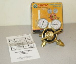 Gentec Technologies 452in 450f Nitrogen argon helium Compressed Gas Regulator