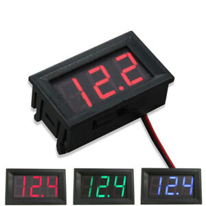 Dc Voltmeter 0 56 led Digital Volt Meter Gauge Battery Charge Indicator Tester