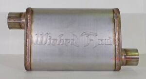Wicked Flow Max High Performance Racing Muffler 2 5 Wf ss212