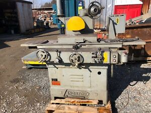 Norton S 3 Surface Grinder W 8 X 24 Walker Magnetic Chuck 3hp 3ph 460v