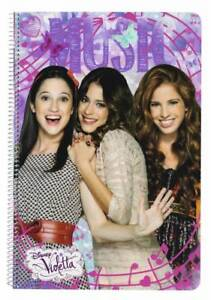 Disney Violetta Writing Block Spiral Notebook Notepad