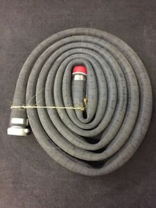 One Water Suction Hose 20 Foot Long 125 Max Psi 2 Diameter Zz h 601