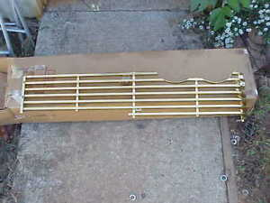 1958 Plymouth Fury Nos Mopar Driver Side Gold Grille 1754441