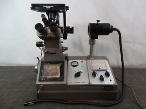 Olympus Tokyo Pme Inverted Microscope W Five Objectives