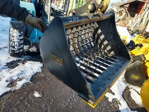 Heavy Duty De Cat 303 42 Excavator Grading Bucket Backhoe 40mm Pins