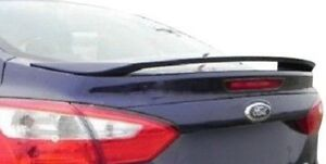 Pre Painted Spoiler For Ford Focus 4dr 2012 2014 Spoiler Wing New All Colors