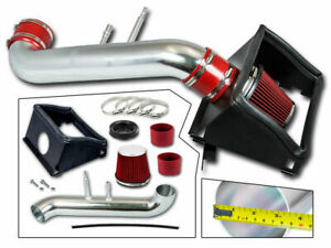 Bcp Red For 2015 2020 Ford F150 5 0l V8 Heat Shield Cold Air Intake Kit filter