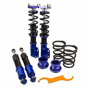 For 4th Gen 1994 2004 Ford Mustang Coilover Lowering Kits Adjustable Height
