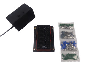 Bussmann Rtmr 15303 2 Waterproof Fuse Relay Panel Box With Terminals 12v Kit
