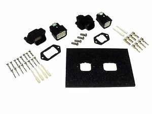 Molex Mx150l Series Wire Connector Panel Mounting Plate Kit Car Truck Atv Marine