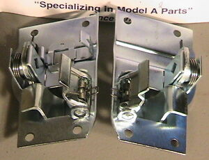 1930 1931 Model A Ford Coupe Tudor Sedan And Pickup Deluxe Door Latch Set