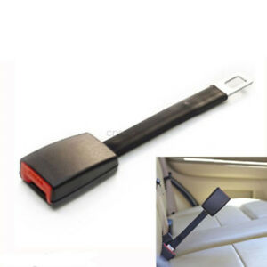 2x High Strength Car Seat Belt Extenders 9 Rigid Safety Buckle Extensions Solid
