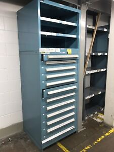 Stanley Vidmar 11 drawer Parts Cabinet