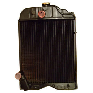 180291m1 Radiator For Massey Ferguson Diesel To30 203 205 35uk 135 W Cap
