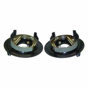 Crown Automotive 476212829k Backing Plate Set With Hardware For Grand Cherokee