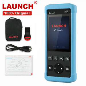 Launch X431 Cr8021 Obd2 Diagnostic Tool Code Reader Epb Abs Srs Tpms Dpf Scanner