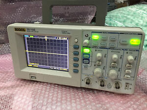 Rigol Ds1102e Digital Oscilloscope 100mhz 1 Gsa s 2 Channels 1mpts 5 7 Tft Usb