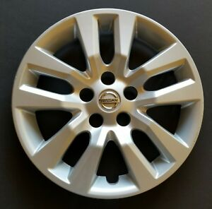 2013 2014 2015 2016 2017 Nissan Altima 16 Oem Wheel Cover Hubcap Silver Used