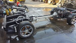 2000 Corvette C5 Rolling Drivetrain Chassis With Ls1 Engine Auto 106k