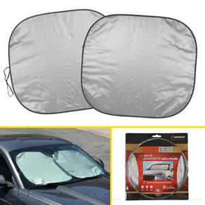 Pop Up Standard Front Car Window Sun Shade Windshield Block Cover Auto Visor