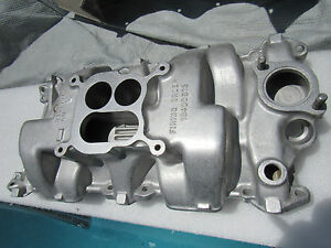 62 Corvette Restored Original 397 Small Block Intake Manfiold 3795397 327 340hp
