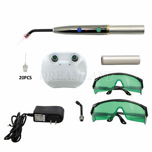 Handy Pad Light Dental Heal Laser Diode Pain Relief Endo Perio Treatment Kit Cjr