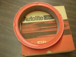 Nos Oem Ford 1967 1968 1969 Mustang Fairlane Falcon 6 Cyl Air Filter Autolite