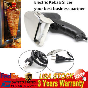 Electric Kebab Slicer Shawarma Doner Meat Knife Gyros Gyro Cutter Blade 80mm