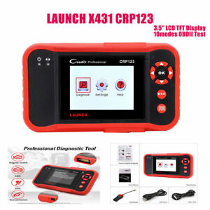 Launch X431 Crp123 Obd2 Code Reader Diagnostic Tool Abs Srs Engine Transmission