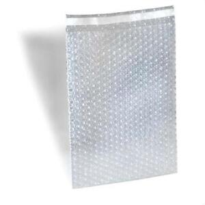 4 X 7 5 Clear Bubble Out Bags Padded Envelopes Shipping Self Seal 7700 Pieces