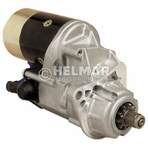 Hyster Forklift Starter Heavy Duty 1388721 hd Straight Drive no Gear Reduction